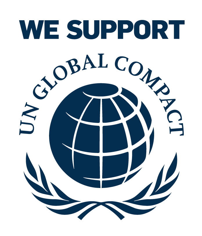 Logo we support UN Global Compact